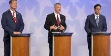 Top GOP gubernatorial candidates focus on vision in debate