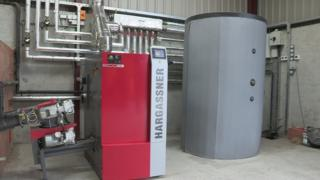 A biomass boiler, similar to those owned by some RHI scheme claimants