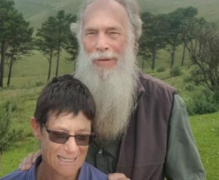 Rodney Saunders and his wife Rachel