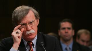 John Bolton pictured in 2006