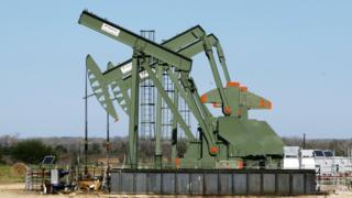 Oil well in South Texas