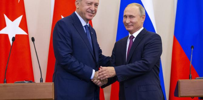 Vladimir Putin and Recep Tayyip Erdogan to meet on sidelines of upcoming Syria peace talks