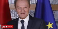 Brexit: Donald Tusk tells Eu Union to approve deal