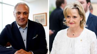 Composite image of Mike Espy and Cindy Hyde-Smith