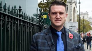 Stephen Yaxley-Lennon, better known as Tommy Robinson