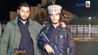 Bakr Madloul pictured during his time as an IS operative