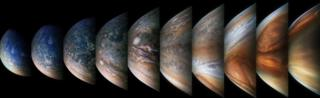 People have downloaded the raw images of Jupiter and processed them, often revealing new details of its surface (c) NASA / SwRI / MSSS / Gerald Eichstädt / Seán Doran