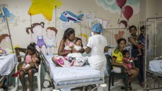 The emergency room in Maicao, Colombia