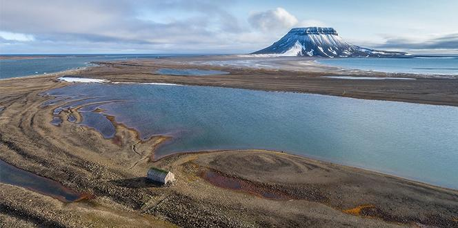 Russia has 5 new islands when glaciers melt