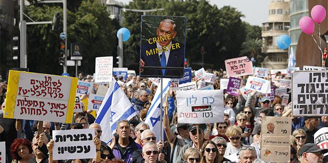 The Israelis are calling for Netanyahu to resign