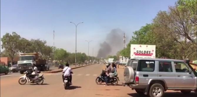 Explosions, gunfire rock Burkina Faso's capital