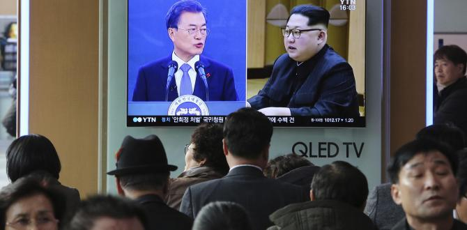 Moon Jae-in, South Korean president, says talks won't ease pressure on North