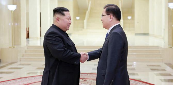 North Korea agrees to a moratorium on nuclear and missile tests, will hold landmark summit in April