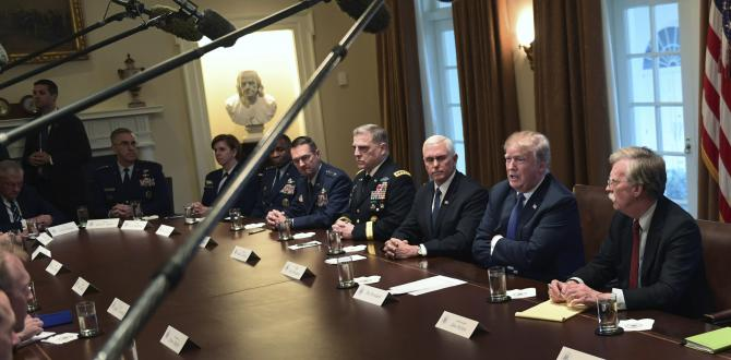 Donald Trump's Syria strike warning spurs national security team to action