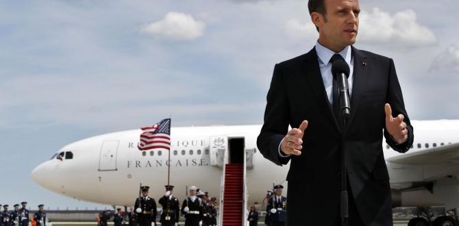 Trump firmly against Iran nuke deal, ready for French President Macron's pro-deal pitch