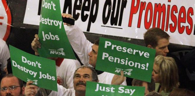 Underfunded pensions force governments to make hard decisions