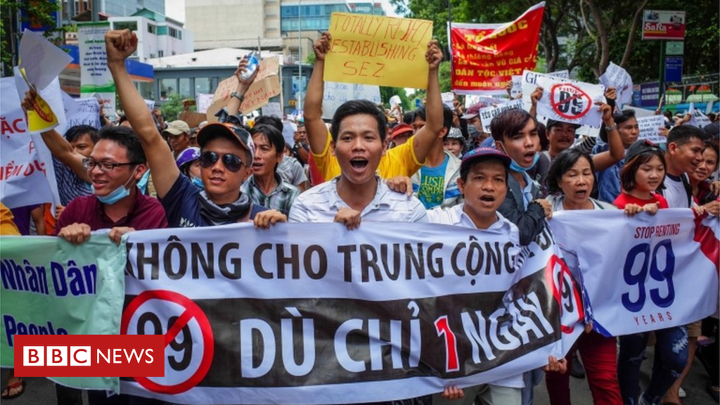American Will Nguyen held in Vietnam after protests