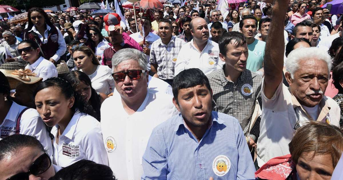 As Mexico 's election day approaches, over ONE HUNDRED politicians were brutally murdered