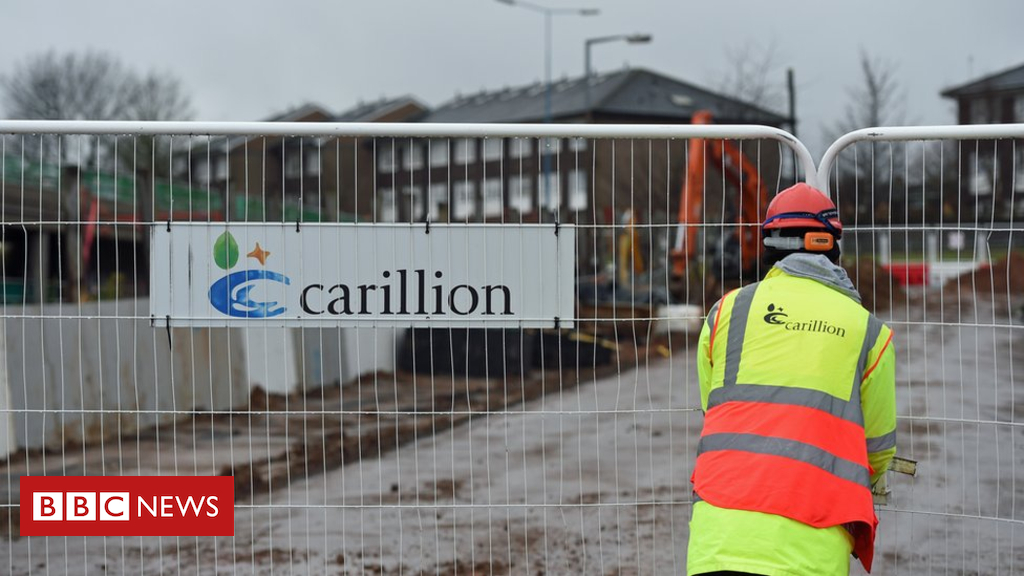 Carillion cave in to cost taxpayers £148m