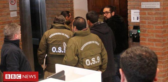 Chile police raid Catholic Church offices amid sex abuse scandal