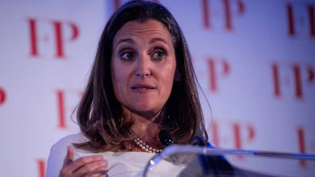 Chrystia Freeland calls nationwide safety reason for U.S. tariffs 'hurtful' - The Globe and Mail