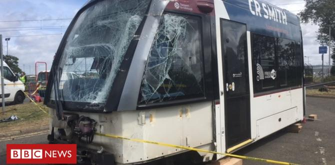 Driving Force critical after Edinburgh Airport bus and tram crash