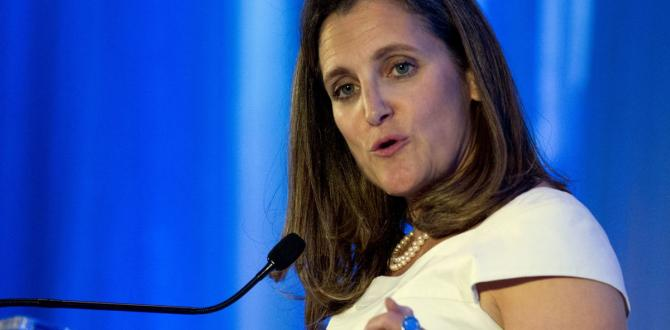 Freeland warns Trump 's tariffs are a part of world attack on international order – The Globe and Mail