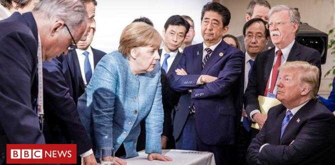 G7 summit: Struggle of words erupts among US and key allies