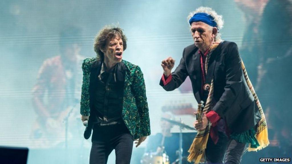 Glastonbury Pageant: Rolling Stones make debut