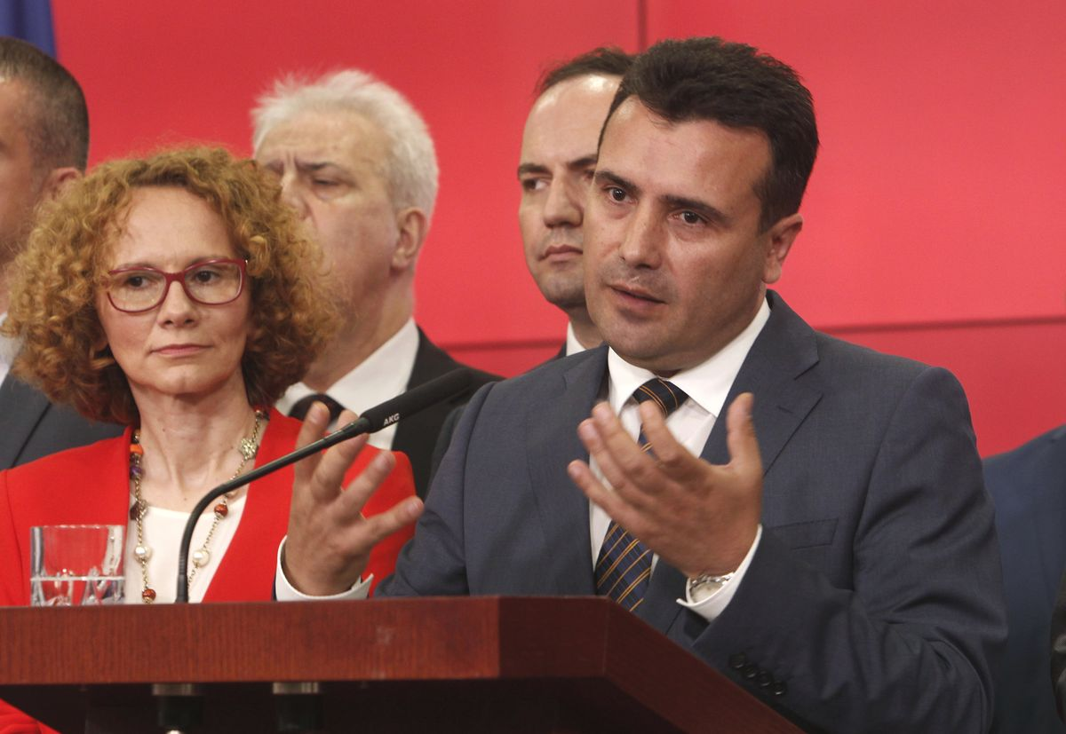 Greece-Macedonia name deal met with mixed response - The Globe and Mail