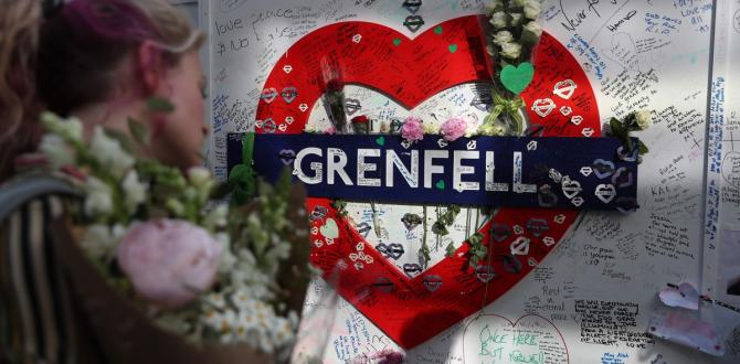 'Grenfell Eternally in our Hearts ': Masses mark first anniversary of deadly London fire – The Globe and Mail