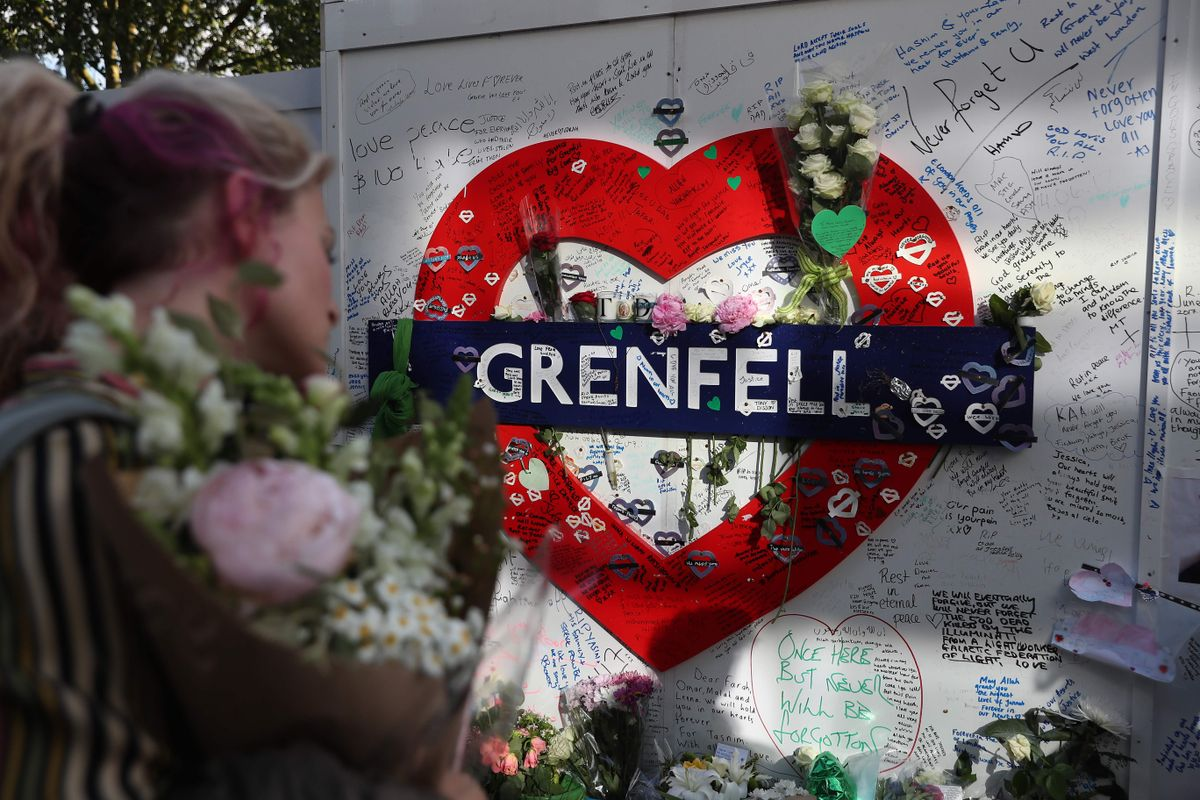 'Grenfell Eternally in our Hearts ': Masses mark first anniversary of deadly London fire - The Globe and Mail