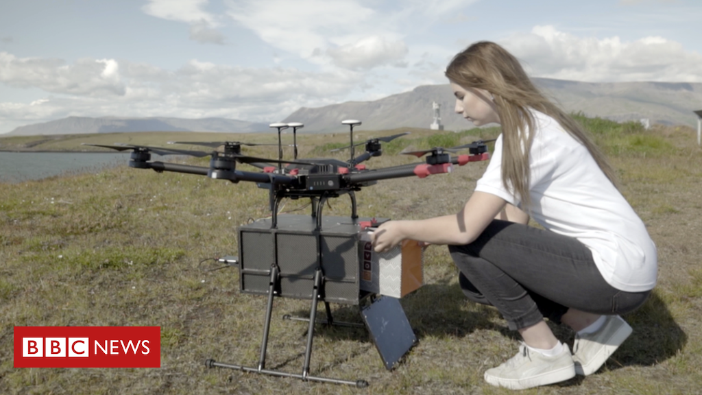Iceland expands food supply by means of drone in Reykjavik