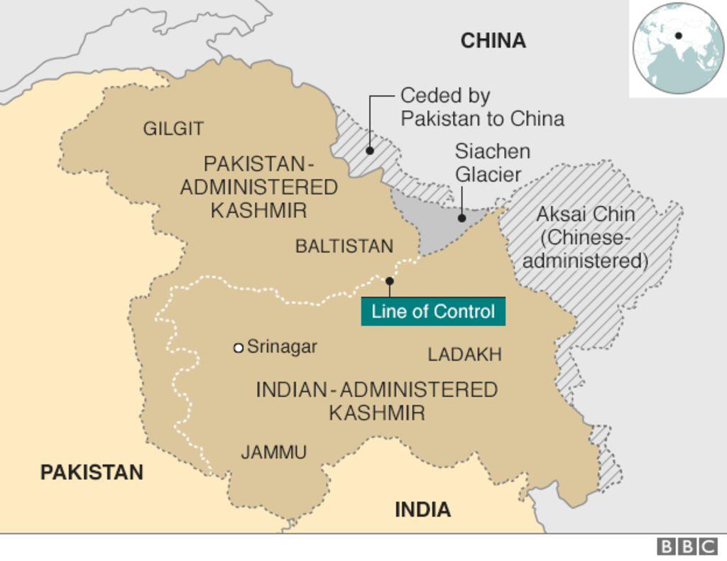 Kashmir territories profile