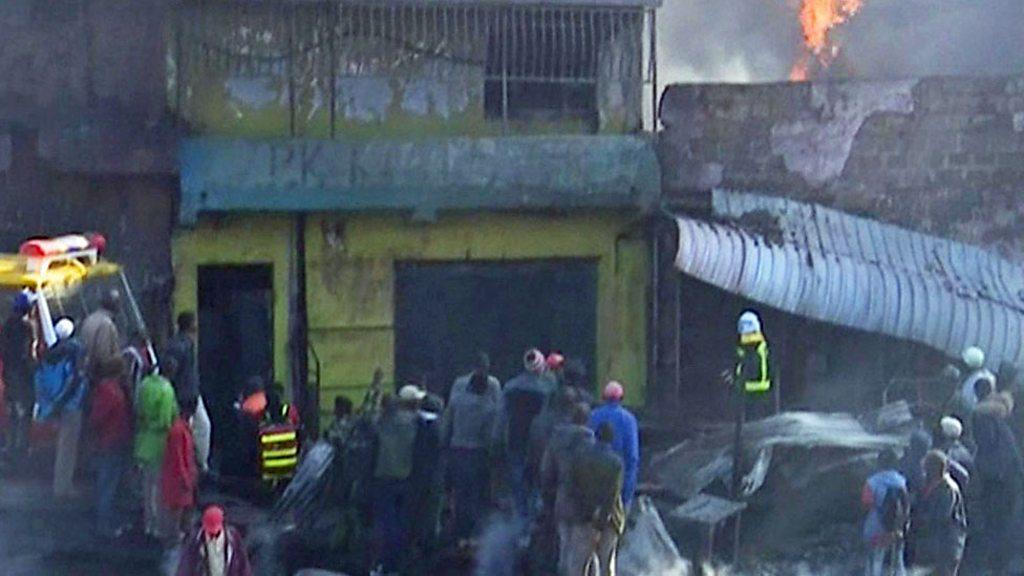 Kenya fire: A Few lifeless in Nairobi marketplace