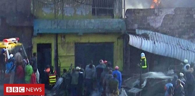Kenya's Nairobi market blaze: Assessing the wear at Gikomba