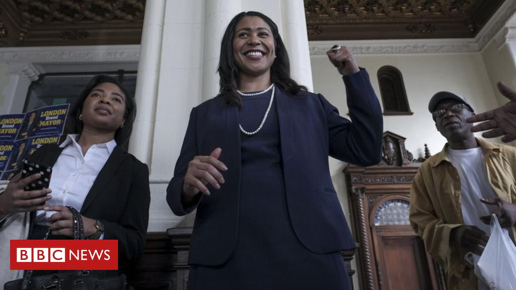 London Breed turns into San Francisco's first black feminine mayor