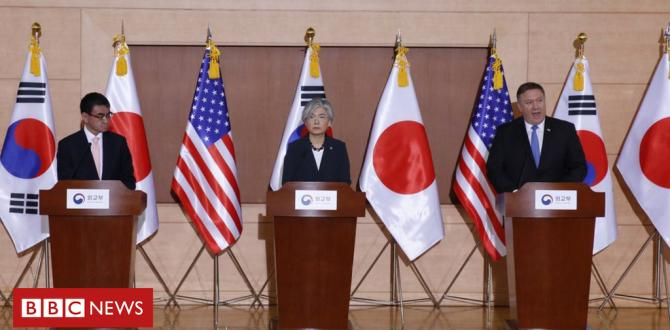 North Korea sanctions remain until whole denuclearisation, says US
