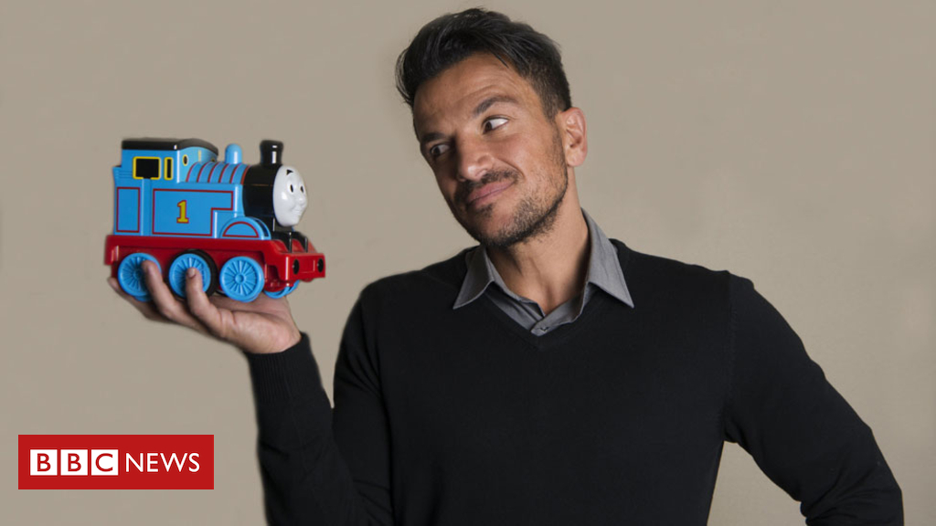 Peter Andre to voice rally car in Thomas the Tank Engine movie
