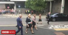 Prince Charles in Coleraine as a part of NI visit
