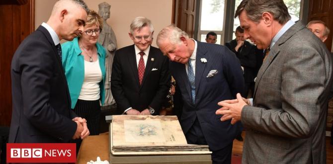 Prince Charles meets Sinn Féin leaders in Cork
