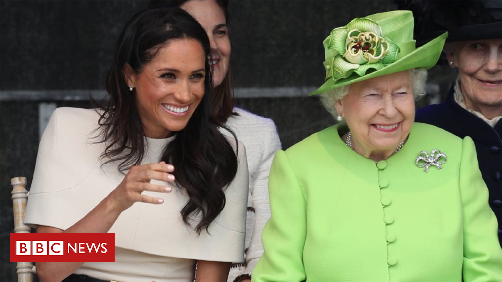 Queen and Meghan seek advice from Cheshire on first joint go back and forth