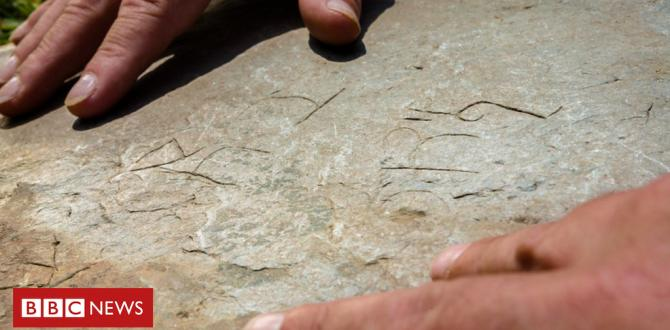 Rare historic writing discovered on medieval Cornish stone