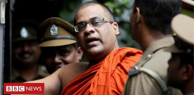 Sri Lanka hardline monk Gnanasara jailed for intimidation