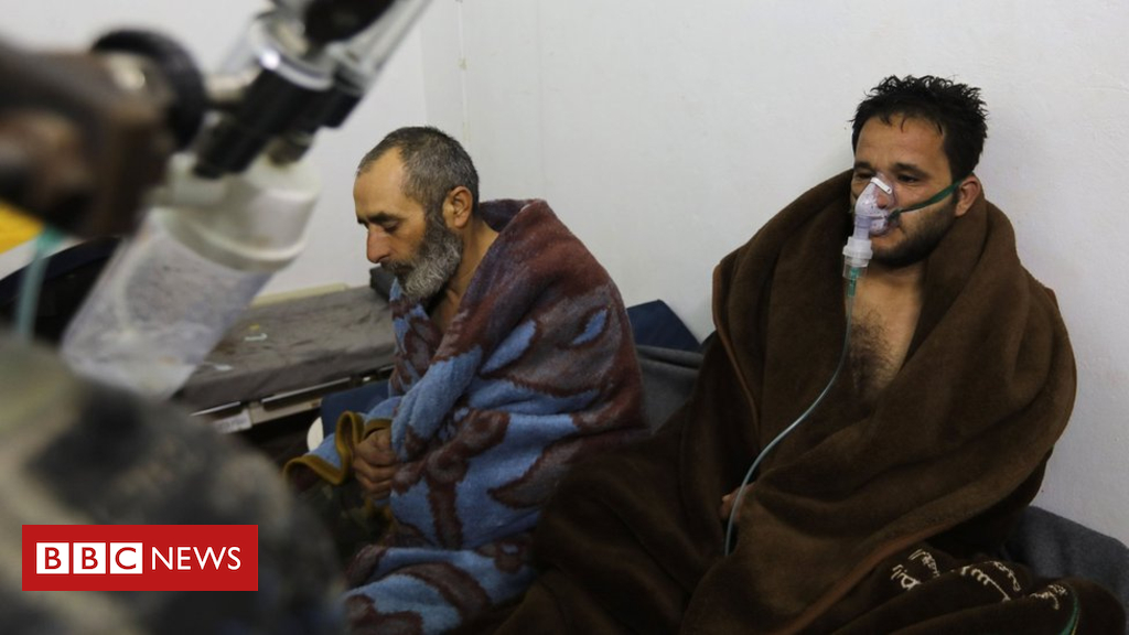 Syria war: OPCW says chlorine used in February assault