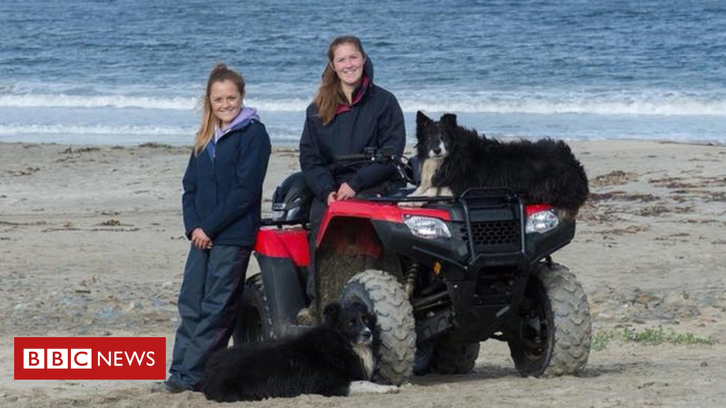 The farming sisters doing it for his or her dad