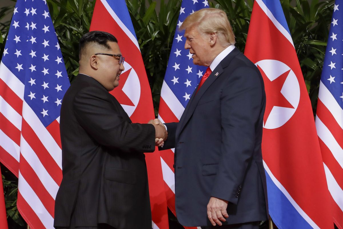 Trump commits weight of U.S. foreign policy to intestine feeling that Kim will act in good faith - The Globe and Mail
