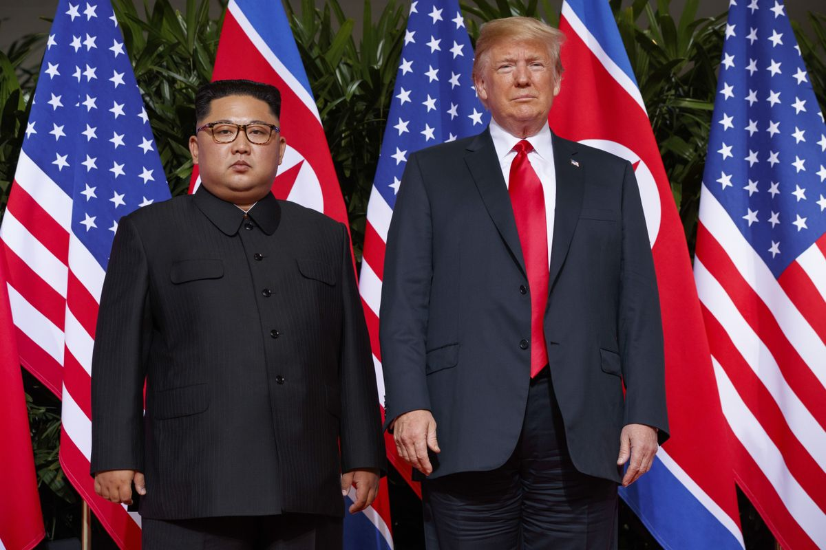 Trump says North Korea no longer a nuclear risk - The Globe and Mail