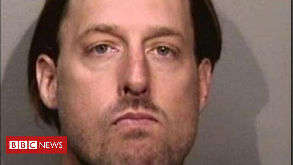 US jogger who dumped homeless man's belongings arrested