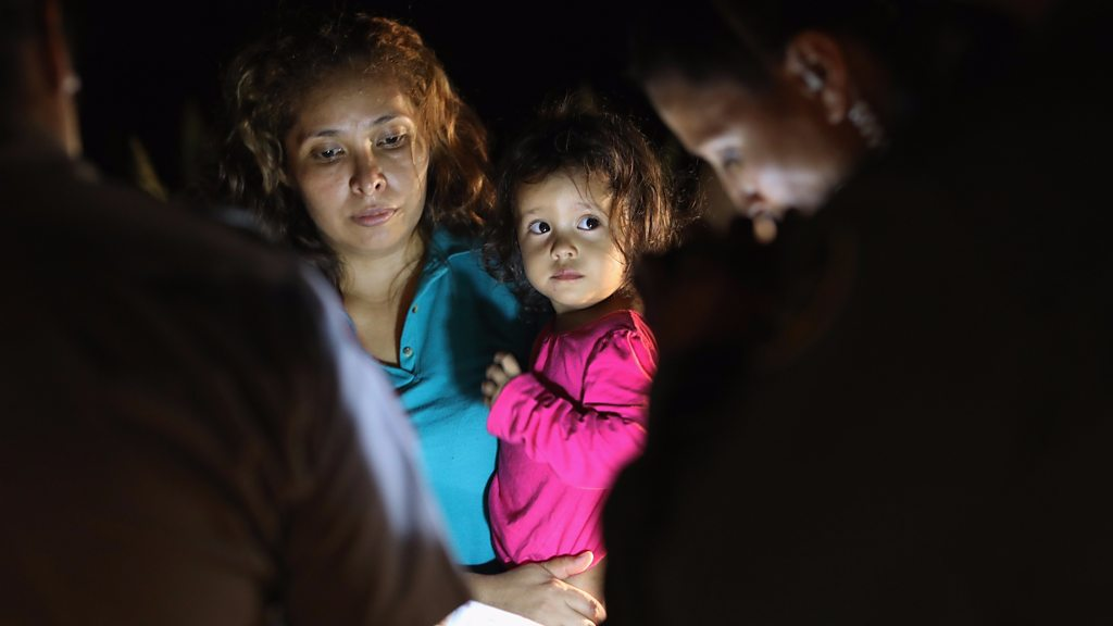 US migrant kids: the larger image defined